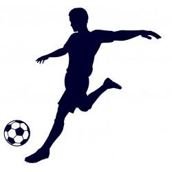 Samolepka na auto-fotbal 04