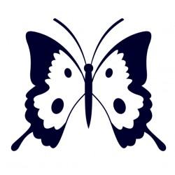 Samolepka na auto - motýl 03