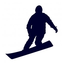 Samolepka na auto-snowboarding 02